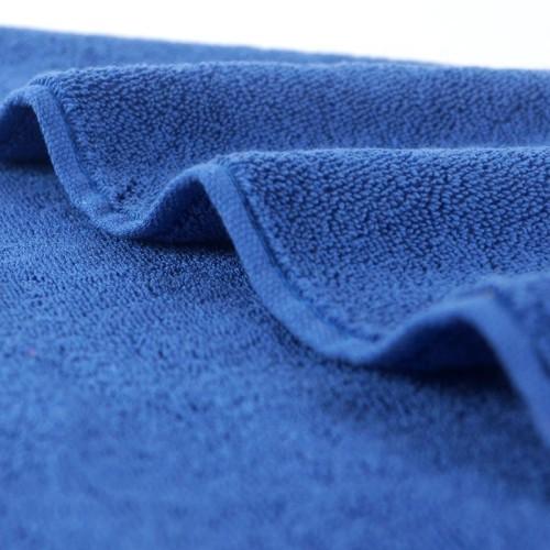 Fashion border design plain color towel,100% cotton soft and luxury hotel towel.