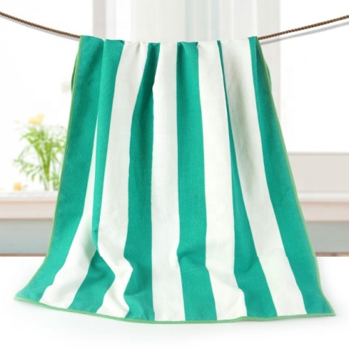 Microfiber printing beach towel strip design, factory supply, reusable.