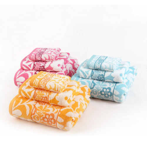 100% cotton 32s/2 and zero twist yarn dyed jacquard high quality velvet towel,factory supply