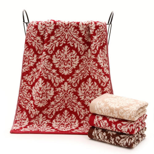 100% Cotton yarn dyed good design face/hand towel cheap towel,factory supply, reusable.