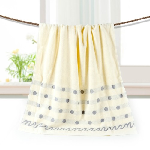 Luxury jacquard border bath towel,100% cotton big gsm,factory supply, reusable.