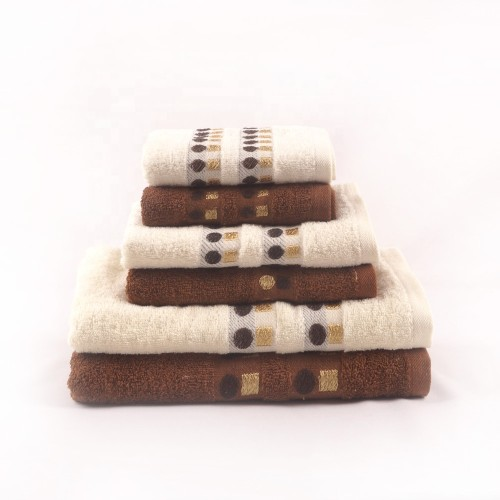 Beautiful plain color satin towel set, 100% cotton, cheap towe, factory supply, reusable.
