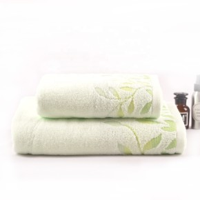 100% cotton printed plain color towel, factory supply, reusable.