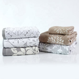 21s/2 luxury Cheap price hometextile dyed yarn jacquard towel,100% cotton,factory supply, reusable.