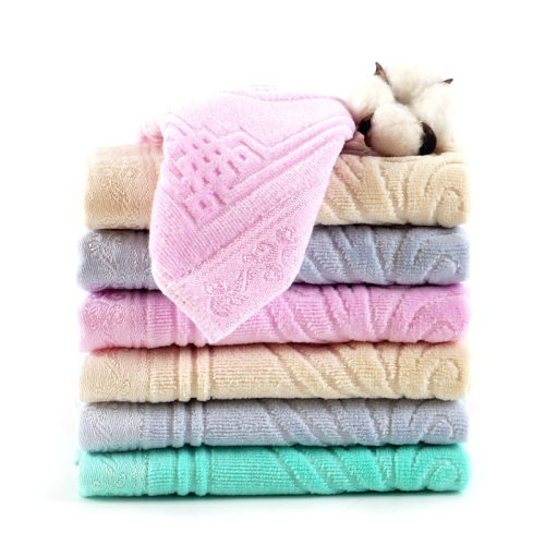 Chinese style and European style velvet square 34*34cm hand towel,factory supply, reusable.