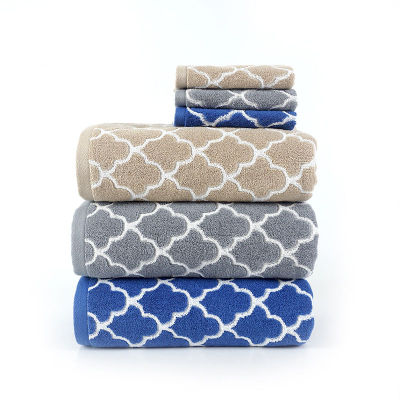 Luxury dyed yarn jacquard bath towel,100% cotton grid design,customizable design,factory supply.