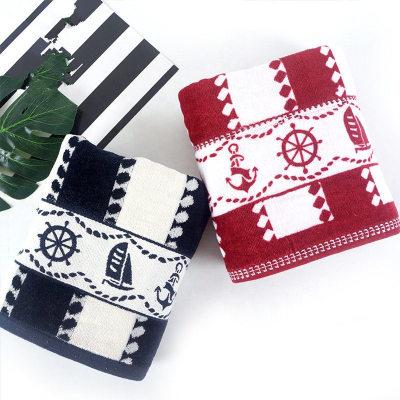 Luxury 21s/2 velvet yarn dyed satin bath towel 100%cotton boat design,customizable design