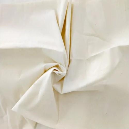 High Quality 100% Cotton Fabric 40 Yarn White Greige Fabric Cloth.