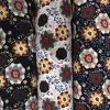 High Quality 110/100GSM 100% Viscose Textile Printed Patterns Rayon Fabric.