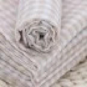 Pure Cotton Fabric Stripe Colored Cotton Gauze Cloth