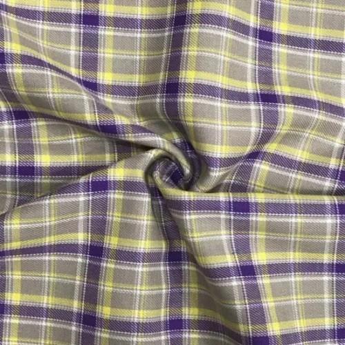 Fashion Design Yarn Dyed Custom Woven Shirt Textile Cloth Printed 100% Cotton Fabric