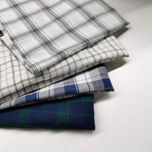 Wholesale 55% Linen 45% Cotton Linen Woven Fabrics Used for Linen Cloth Shirts Fabrics C21*L14