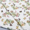 Thin Digital Printing Ramie Cloth High-End Cotton Linen Fabric Skirt Linen Fabric