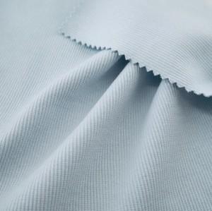 Custom Thick Clothing Accessories Cloth 95% Cotton 5% Spandex Stretch 2X2 Rib Knit Fabric for Cuffs / Hem / Collars