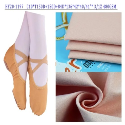 Stock Product The Cheap High Stretch Dance Shoes Fabric for Children in Low Price