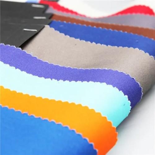Wholesale Plain Poplin White Soft Hand-Feel Polycotton 65 35 Tc Shirting Fabric