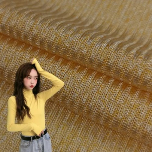 China Textile Supplier Breathable Jersey Knitted Fabric 100% Polyester Cationic Knitting Striped Fabric Poly Spandex Interlock Knit Fabric for Dress
