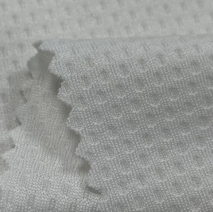 China High Stretch Soft Cool Extreme Feeling Lining Mesh Cloth Kkintted Fabric Polyester Mesh Cloth Fabric for Clothing
