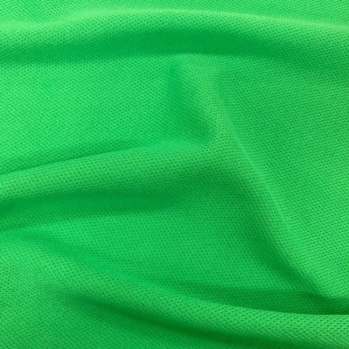 China Factory 100% Polyester Mesh Fabric Yarn Dyed Fabric Breathable Stretch Easy Clean for Sportswear T-Shirt Yoga Suit Dress
