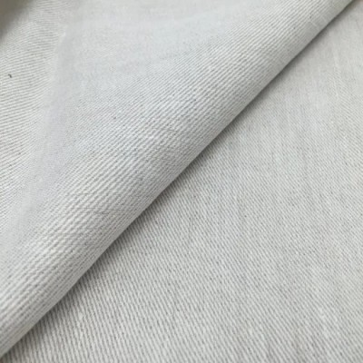 Fashion Well Sale Linen Yarn Dye Twill Fabric for Garments and Dresses and Home Textile