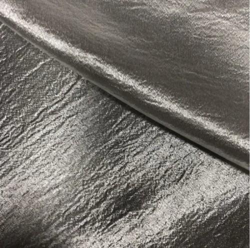 Fashion Dress Fabric Soft Silk Handle Shining Face Faux Silk Fabric for Garment Shirt Skirt