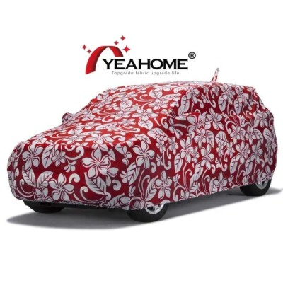 Outdoor SUV Water-Proof Full Car Cover Printed Design Customized Auto Covers