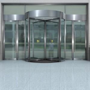 Automatic Revolving Door Glass revolving door