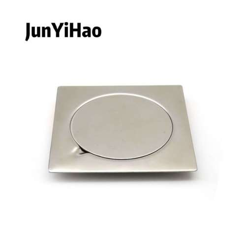 stainless steel floor drain weighted and thickened single use anti blocking large displacement