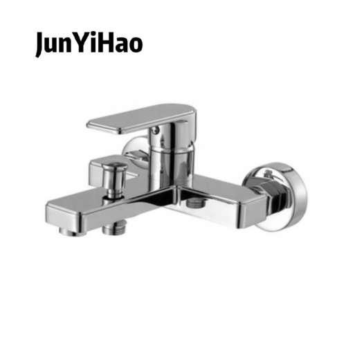 High quality popular cheap In-wall shower faucets single zinc handle chrom brass bath shower mixer