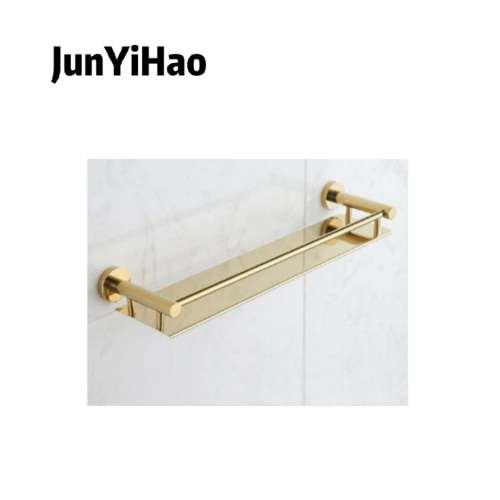 stainless steel gold towel bar bathroom toilet shelf rack set hardware pendant bathroom sets gold
