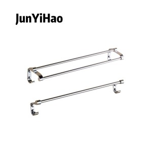 Stainless steel bathroom hardware wall mounted  pendant set towel rack brushed nickel
