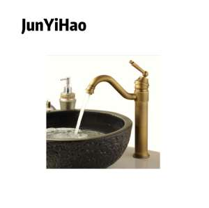 New design chrome brass body taps single handle faucet bathroom basin mixer