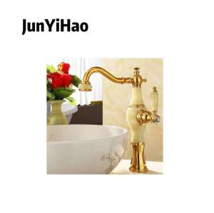 Sanitary ware modern style water tap single handle mixer bathroom brass basin faucet