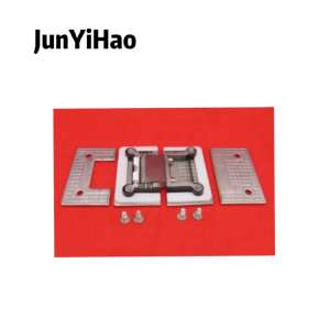 Shower room  hinge 180 degree square double bathroom 8mm-12mm glass hardware accessories