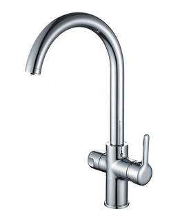 factory price chrome pure water kitchen faucets