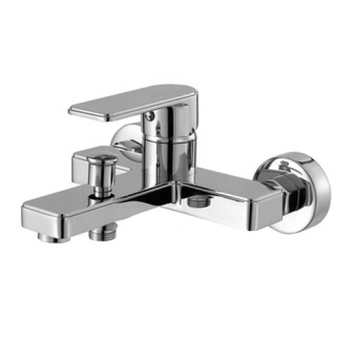 High quality In-wall shower faucets, single zinc handle chrom brass bath shower mixer, popular cheap bathroom faucets