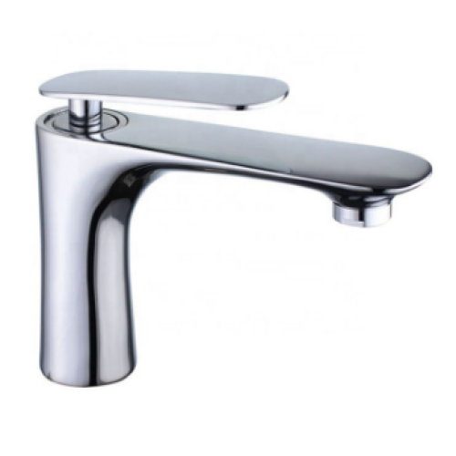 Brass modern water faucet single handle mixer single lever basin tap