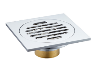 Square pop-up floor drain in China's hot bathroom, factory price stainless steel shower drain
