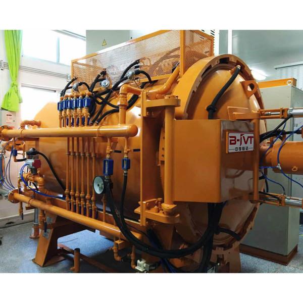 JVTF series vacuum tempering furnace, Beryllium bronze annealing