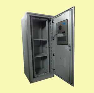 SK-366 outdoor cabinet, with air conditioner, IP55