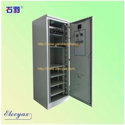 SK-345 outdoor cabinet, with air conditioner, IP55, with monitoring system,