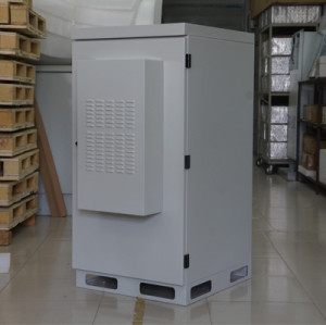SK-235-300W outdoor cabinet, with air conditioner, IP55