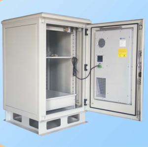 SK-272 outdoor cabinet, with air conditioner, IP55