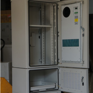 SK-294 outdoor cabinet, with heat exchanger, IP55, integrated outdoor cabinet
