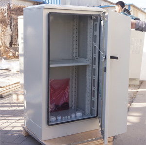 SK-260 outdoor cabinet, with heat exchanger, IP55