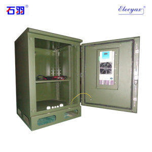 SK-210A outdoor cabinet, with TEC air conditioner, IP55
