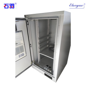 SK-80140 outdoor cabinet, with air conditioner and fan, IP55
