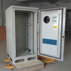 SK-270 outdoor cabinet, with heat exchanger, IP55