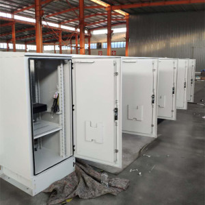 SK-304 outdoor cabinet, with heat exchanger, IP55