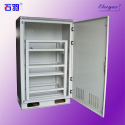 SK-35B battery cabinet, with axial fans and windows, IP43